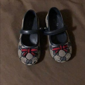 Toddler Gucci ballet shoes
